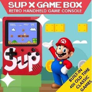 Sup X Game Box 400 in 1 Nosztalgia Kézi Játékkonzol
