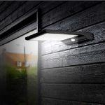 Napelemes DIM Light LED lámpa fény és mozgásérzékelővel