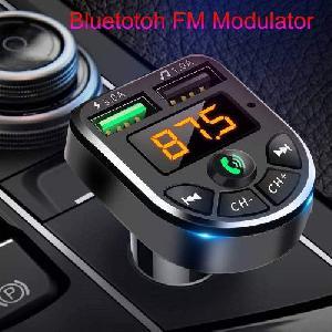 Car 5 Bluetooth Transmitter LCD kijelzővel