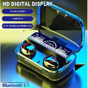 Vezeték nélküli fülhallgató TWS  A16  beépített Bluetooth 5.1, 9D zajcsökkentő