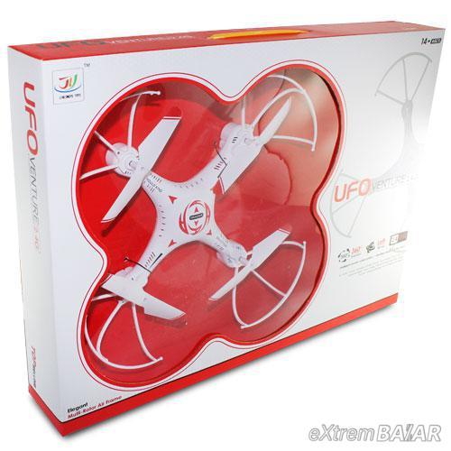 Quadcopter ( Drón ) venture 2.4G With Camera 2.0MP 360 Flip