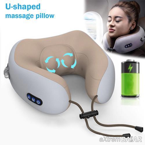 U-alakú masszázspárna / U-Shaped Massage Pillow /