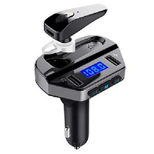 V6 autós BT/FM Wireless Transmitter + headset