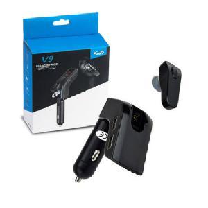 V9 Autós Bluetooth FM transmitter és headset