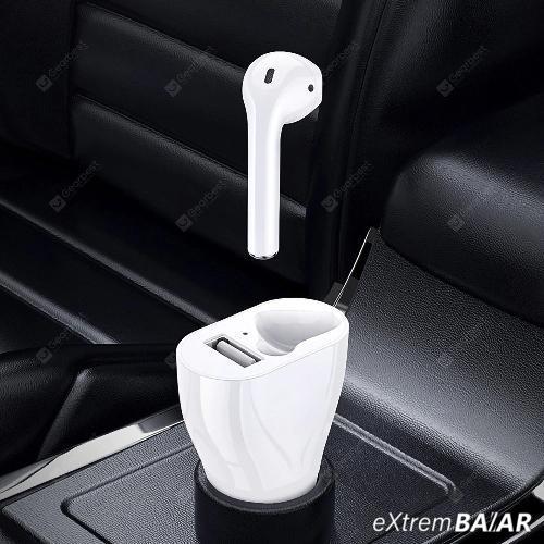 Autós 2 az 1-ben  vezeték nélküli bluetooth headset és töltő