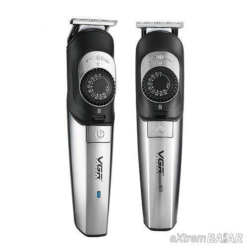 Professzionális vezeték nélküli hajnyíró – 1 mm-től 20 mm-ig állítható fokozattal / biztonsági zárral - V-088
