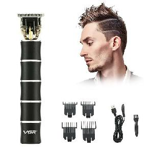 Professzionális T-pengés trimmelő – vezeték nélküli hajnyíró - elegáns fekete V-193