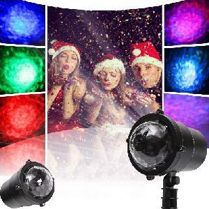 Kültéri Vízálló LED Fényszóró világítás - Party, ünnepi fény - vízáramlási effektus