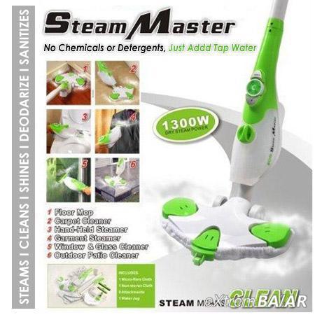 Steam Master X6 univerzális gőztisztító gép, fertőtlenítő hatással, Kül- és beltéren is használható