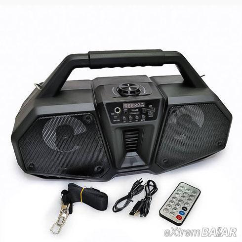 Bluetooth hordozható multimédia lejátszó 10W MP3 USB FM rádió ZQS-4216
