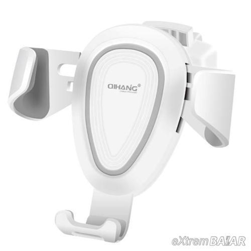 Egykezes autós telefontartó szellőzőrácsra rögzíthető A08