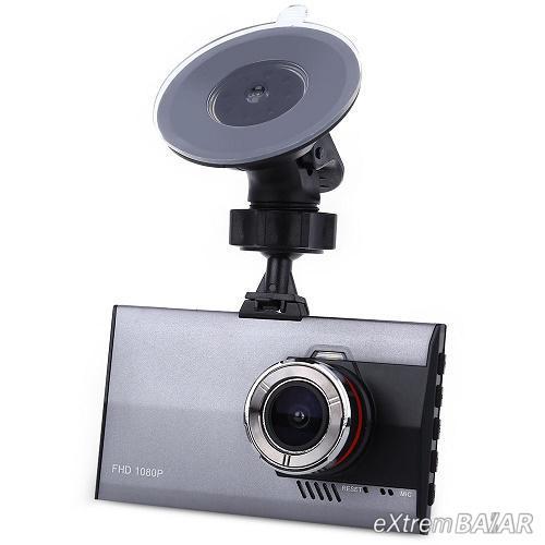 Full HD 170 fokos autós DVR felvevő kamera 1080P  - fekete