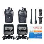 UHF adó-vevő , walkie- talkie UHF400.00-470.00 MHz, CB rádió ( BAOFENG BF-666S ) 2 db/ cs