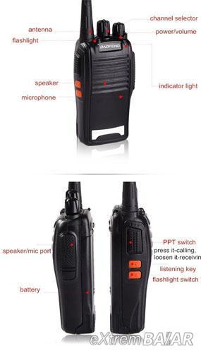 UHF adó-vevő , walkie- talkie 5-8 Km ( BAOFENG BF-777S ) 1 db