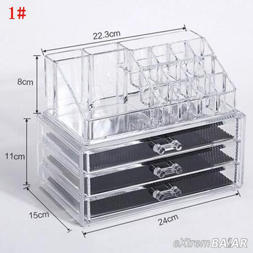 Smink Kozmetikai rendszerező doboz tároló fiók / Cosmatic Storage Box 4 drawer /