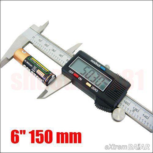 Digitális tolómérő 6 Digital Caliper * Metric and Sae Digital Display