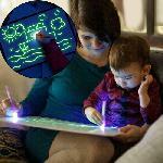 Rajzolj fénnyel – foszforeszkáló rajztábla