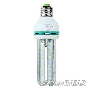 Efficient LED 24W  AC86 ~ 265V SMD LED Energiatakarékos 6000k,  Hideg fehér E27