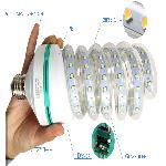 Efficient LED 24W AC86 ~ 265V SMD LED Energiatakarékos 3200k, meleg fehér E27 spiral