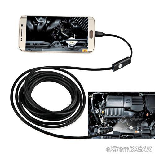 5 méter Andriod csőkamera endoszkóp Micro USB Cső Kamera