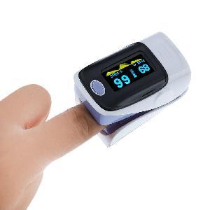 Ujj pulzus és oxigén mérő - Fingertip Pulse Oximeter - Véroxigén szint és pulzus mérő