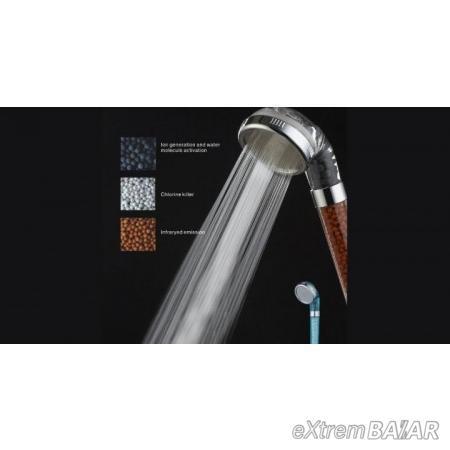 GERMANIUM SHOWER  zuhanyrózsa aktív anion kristály szűrővel
