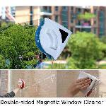 Glass Cleaner kétoldalú, mágneses ablaktisztító