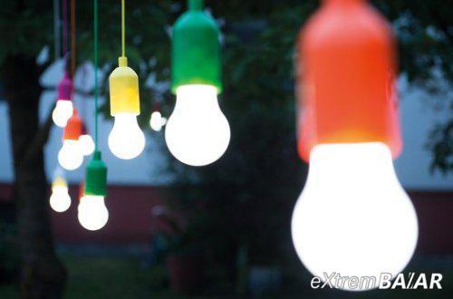 Handy LED szett Rainbow hordozható lámpa / erős fényű LED lámpa
