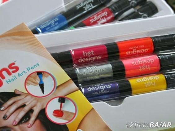 HOT DESIGNS körömfestő toll szett