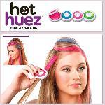 HOT HUEZ   hajkréta készlet.  kimosható hajszínező