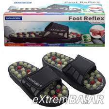 LANAFORM FOOT REFLEX Talpreflexológiai papucs