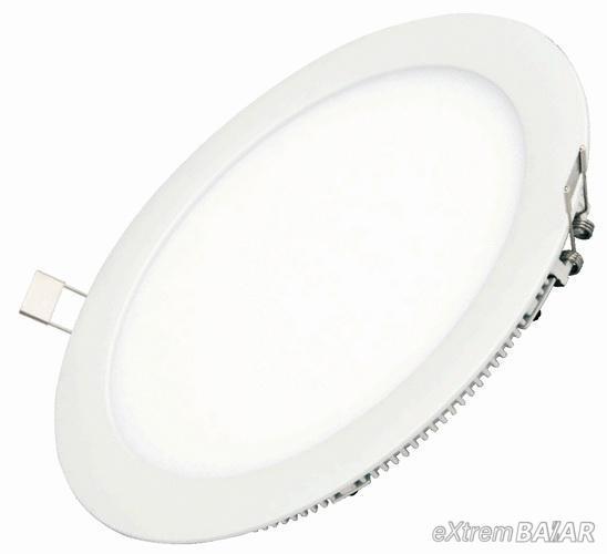LED PANEL 18W mennyezeti körpanel
