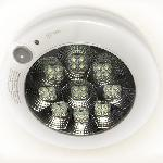 LED 7 W Mozgásérzékelős led mennyezeti lámpa