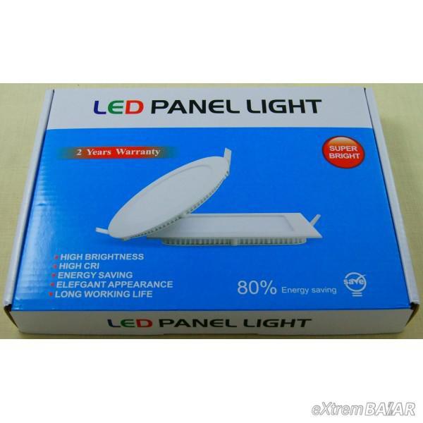 LED PANEL LIGHT Energiatakarékos, 18W-os LED Panel 2db szett