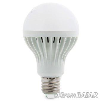 LED Izzó E27 9W 800LM White Light 5500 - 6000K 5730 SMD LED Ball Bulb Lamp