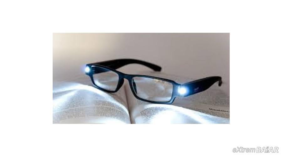 LED lámpás szemüveg LED READING GLASSES