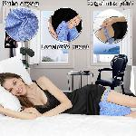 Kontúr lábpárna rugalmas pánttal, a kényelmes alvásért / térd- és lábtámasztó párna