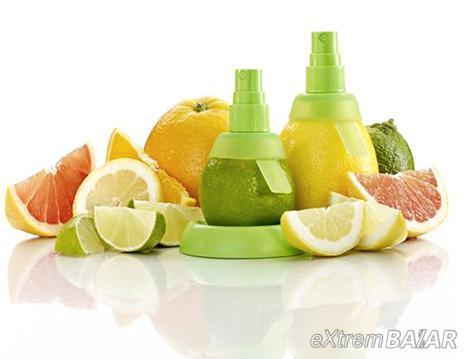 Citrom-spray  2 db-os szett   Az igazi gyümölcs ízével