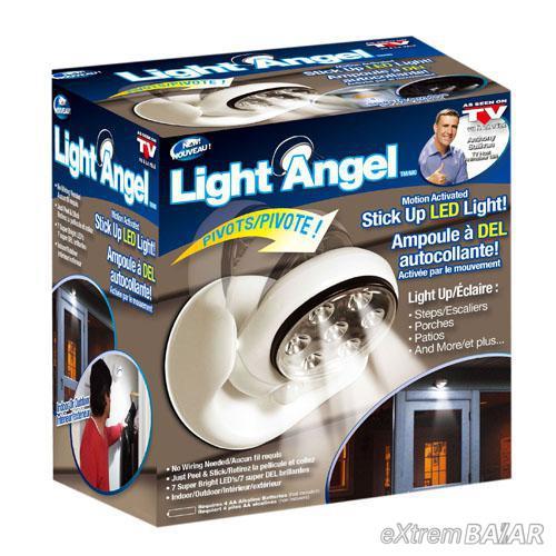 LIGHT ANGEL MOZGÁSÉRZÉKELŐS LED LÁMPA