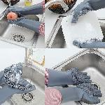 Magic SakSak hőálló szilikon Súroló kesztyű, tisztító felülettel