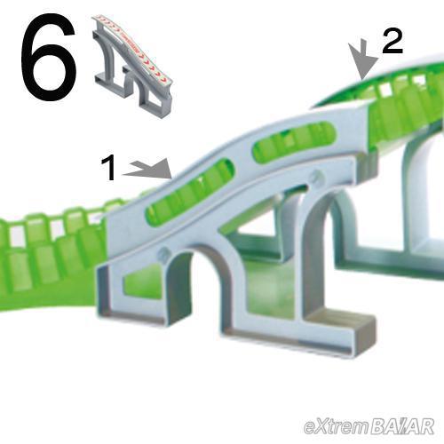 Mágikus autópálya HÍD ( Magic Tracks Bridge ) 6 db