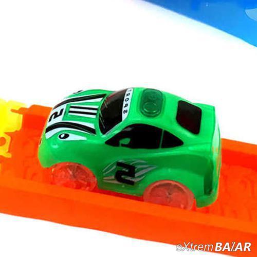 Mágikus autó, Sport változat LED-es Brutál XL ( 360 fokos fordulóval kompatibilis ) Zöld