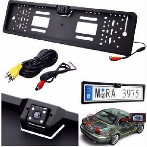 Tolatókamera, Rendszámtábla épített keretbe - European Car Licence Plate Reaview Camera