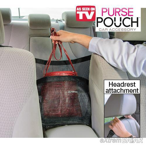 Purse Pouch autós kiegészítő Táska Tartó háló