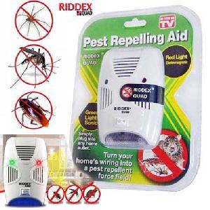 RIDDEX PLUS RÁGCSÁLÓ ÉS ROVAR RIASZTÓ ( NEW ) Pest Repelling Aid