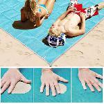 Homokmentes strandmatrac 200 * 150 cm - SAND-FREE MATA -