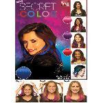 Secret color - headband hair extensions / színes póthaj fejpánt