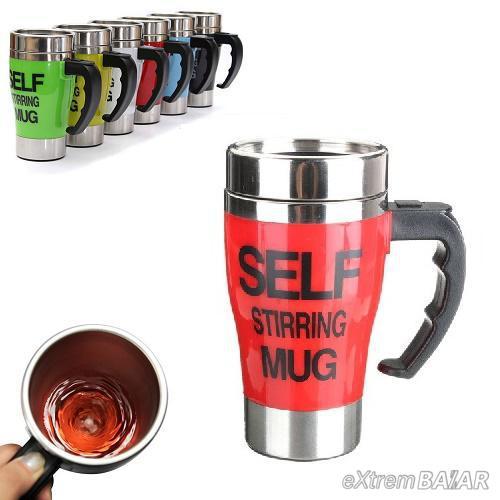 ÖNKEVERŐS BÖGRE  - Self  stirring mug