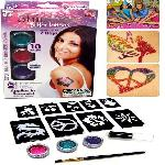 SHIMMER Glitter Tattoos csillámtetováló készlet