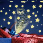 Star Belly világító plüss kutyus / csillagkivetítős éjszakai fény